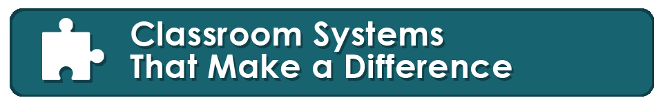 classroom systems that make a difference banner