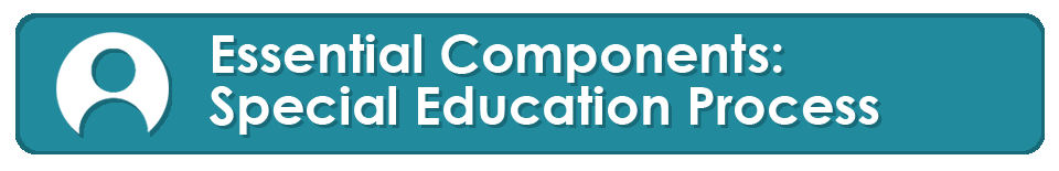 essential components special education process banner